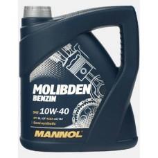 Масло моторное 10W40 MB40430 MANNOL Molibden Benzin SL/CF 4L