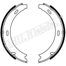 Комплект тормозных колодок GLOBER стояночная тормозная система