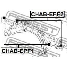 Сайлентблок задний подрамника переднего к-т 2 шт (FEBEST) CHEVROLET EPICA