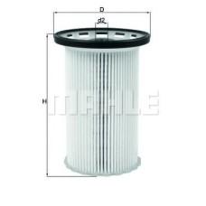 Топливный фильтр MAHLE FILTER Фильтр-патрон Наружный диаметр: 93 мм Внутренний диаметр: 9,5