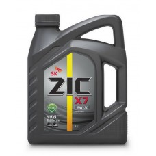 Масло моторн. ZIC X7 5W-30 Diesel (Канистра 6л)