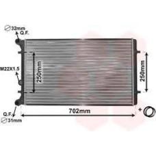Водяной радиатор TEMPEST (4613875333) AVEO