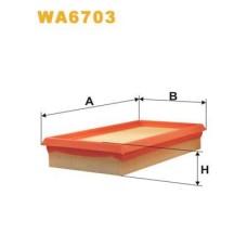 Воздушный фильтр WIX FILTERS Kangoo 97-03/Clio 00-01 1.9D