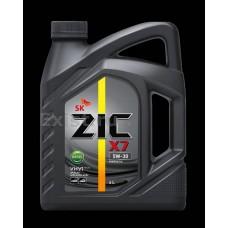 Масло моторное 5W30  ZIC X7 Diesel 4л