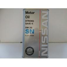 Масло моторное 5W30 FANFARO OEM NISSAN Strong Save-X  4L