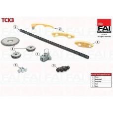 Комплект цепи балансировочных валов FAI AutoParts дв.  Z22SE