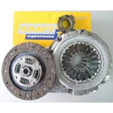 Комплект сцепление в сборе Geely Emgrand /Vision 09- (Krafttech) (3 части)