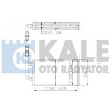 Радиатор печки Transit 94-00 (-AC) (1113755/95VW18B539AE/OP1016) DP GROUP