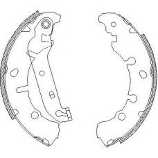 Комплект тормозных колодок (REMSA) Ford Fiesta, Fusion