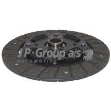 Диск сцепления (210мм)пр-во (JP GROUP) AMULET 1.6i, VW, AUDI 80/100,A6 86-