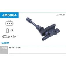 Катушка зажигания (пр-во JANMOR) MAZDA 626, Premacy 2.0i, V16, FS