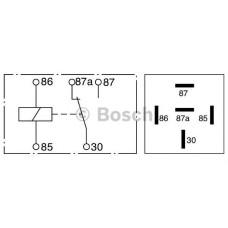 Реле 5 конт. 12v 30a/20 a (пр-во Bosch)