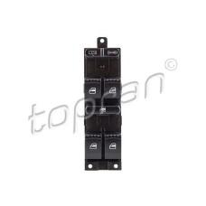 Блок управления стеклоподъемниками 4 двери (пр-во TOPRAN) VW Passat B5