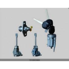Комплект ключей и личинок (замки с ключями) (GEELY) Geely MK