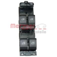 Блок управления стеклоподъемниками 4 двери (пр-во METZGER) VW Passat B5