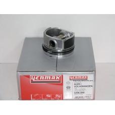 Поршень в комплекте на 1 цилиндр, +0,50, 81,51 мм (YENMAK) AUDI 81,51 1,8 20V AJQ/AW/AGU...