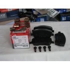 Комплект тормозных колодок, дисковый тормоз COTEC TRW