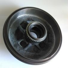 Барабан тормозной задний с ABS под 2 подшипника (пр-во КИТАЙ) Geely CK, CK2
