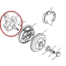 Кулак поворотный задней подвески под подшипник без ABS (пр-во Китай) Geely CK