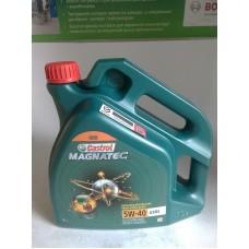 Масло моторное 5W40 (CASTROL) Magnatec 4L