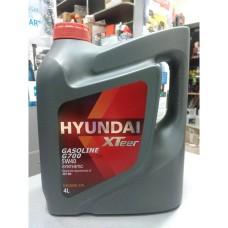 Масло моторное 5W40 (HYUNDAI) Xteer Hyundai Gasoline G700 SN 4L