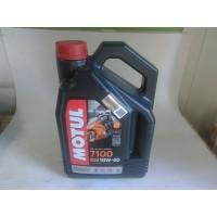 Масло моторное 10W40 4T 7100 (пр-во MOTUL) 4L,104092