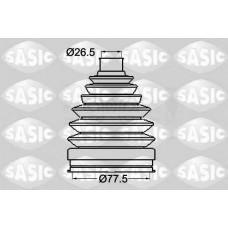 Пыльник к-кт наружный термопласт 26,5*77,5 (SASIC) Renault Kangoo 08-