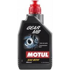 Масло трансмисионное минеральное 80W90 (MOTUL) GEARBOX 1L, 12529