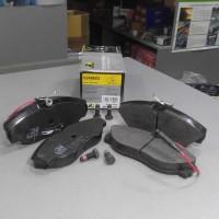 Колодки тормозные передние с датчиком износа (пр-во RoadHouse) Fiat Ducato 94-99, Peugeot Boxer 94-