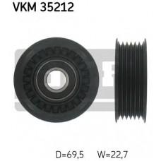 Ролик натяжителя поликлинового ремня 69,5*22,7 (пр-во SKF) Mazda 6