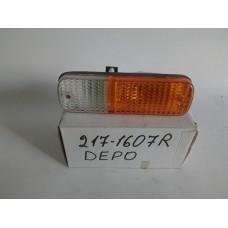 Фонарь габаритный правый передний (пр-во LUCID) Honda Accord 86-89