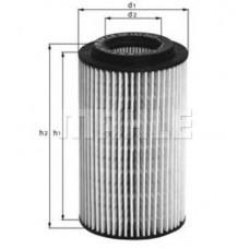 Фильтр масла (MAHLE ORIGINAL) Sprinter, Vito, C, E ОМ651 09-, W203, 204, 210, 211, 220 2.8-6.0i. CDI