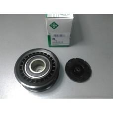 Ролик модуля натяжетеля поликлинового ремня 26,5*6*81 (пр-во INA) VW T4