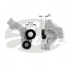 Натяжитель с роликами поликлинового ремня (пр-во GATES) Ford Transit Connect 1.8 TDci, 02-13
