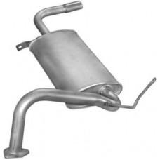 Глушитель выхлопных газов конечный  POLMO
