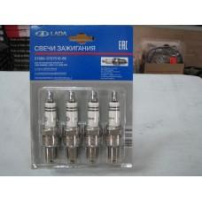 Свеча зажигания к-т, зазор 0,7 (BOSCH) А-17ДВРМ, ВАЗ 2108 (8 кл. карб.) 21080-3707010-86