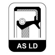 Сальник вала коленчатого задний 60*80*8 (пр-во ELRING) Daewoo Matiz 0.8