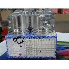 Поршень цилиндра ВАЗ 2112, 21124 16V, d=82,0, ГР. А (пр-во СТК), 21124-1004015