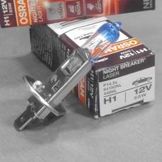 Лампа фарная H1 12V 55W P14,5s (пр-во OSRAM) NIGHT BREAKER LASER +150