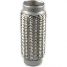 Гофра глушителя, 3-х слойная, EuroEx, 55*200