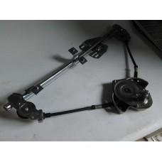 Стеклоподъемник передний левый механический (пр-во ДМЗ) ВАЗ 2109, 2114, 2115