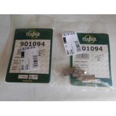 Монтажный к-кт пружинок передних колодок с ABS (пр-во FRENKIT) GEELY CK, CK2, 3501190005