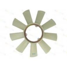 Крыльчатка вентиялтора 9 лопостей 3 отверстия, ROTWEISS, Mercedes Sprinter 2.9 TDI