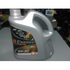 Масло 5W-30, G-Energy Synthetic Super Start SN/CF, ACEA C3, 4L