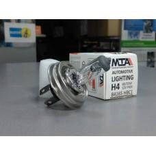 Лампа автомобильная H4 12V 60/55W P43T (ближняя/дальняя) MTA