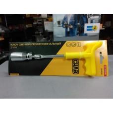 Ключ свечной 21x250 мм, профессиональный с усиленной ручкой (пр-во СИЛА)
