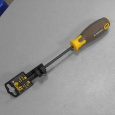 Отвертка крестовая композитная рукоятка CrV PH2 6x150мм (Phillips) (вороненная) СИЛА