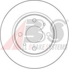 Диск переднего тормоза вентилируемый  (A.B.S) R13