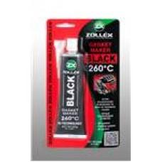 Герметик прокладок черный без запаха  Zollex  85г (-50C +260C)