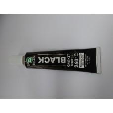 Герметик прокладок черный без запаха  Zollex 25г (-50C +260C)